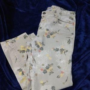 Tommy Hilfiger Skinny Ankle Crop Flower Jeans